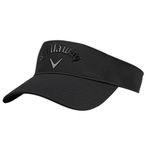 Callaway Men ' S Liquid Metal Visor - Black / Black
