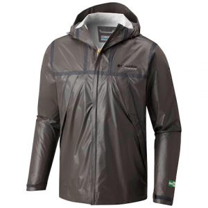 Columbia Men ' S Titanium Series Outdry Ex Eco Jacket - Bamboo Charcoal