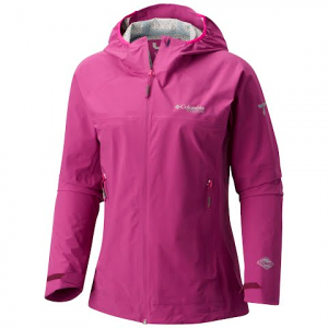 Columbia Women ' S Trail Magic Shell Jacket - Intense Violet