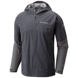 Columbia Men ' S Trail Magic Shell Jacket - Graphite / Ti Grey Steel