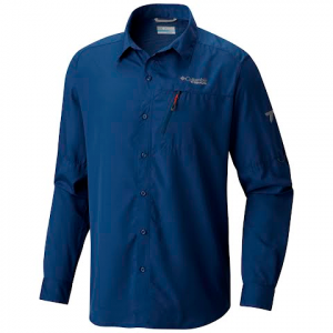 Columbia Men ' S Northern Ground Long Sleeve Shirt - Carbon