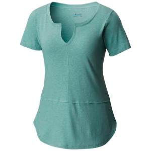 Columbia Women ' S Summer Time Short Sleeve Tee - Dusty Green