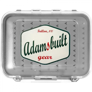 Adamsbuilt Medium Double Sided Silicone Waterproof Fly Box - Clear