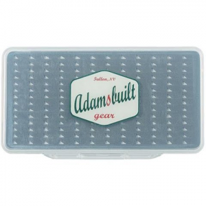 Adamsbuilt Super Slim Series With Easy Grip Foam Fly Box ( Large )