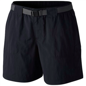 Columbia Women ' S Sandy River Cargo Short ( Plus Sized ) - Black