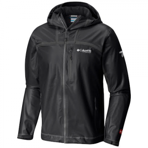 Columbia Men ' S Outdry Ex Stretch Hooded Shell - Black