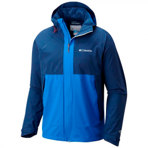 Columbia Men ' S Evolution Valley Jacket - Super Blue / Carbon