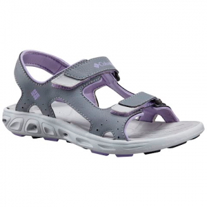 Columbia Youth Techsun Vent Shoes - Tradewinds Grey / White Violet