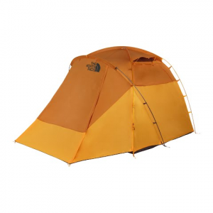 The North Face Wawona 4 Tent - Golden Oak / Saffron Yellow