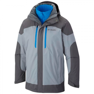 Columbia Men ' S Summit Crest Interchange Jacket - Tradewinds Grey