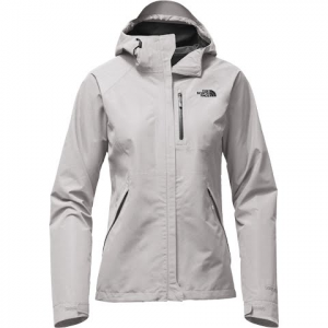 The North Face Women ' S Dryzzle Jacket - Tnf Light Grey Heather / Tnf Black