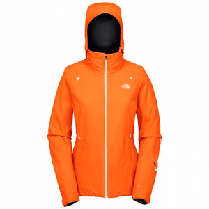 The North Face Womens Tuggs Jacket - Acrylic Orange