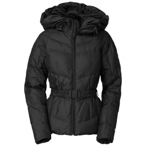The North Face Womens Collar Back Down Jacket - Tnf Black