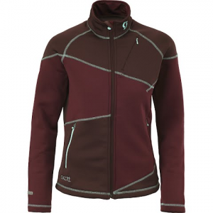 Scott Women ' S Eight8 Fleece Jacket - Burnt Burgandy