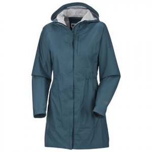 Columbia Women ' S Compass Course Shell Jacket - Tide Water