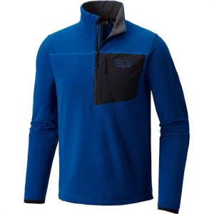 Mountain Hardwear Men ' S Strecker Lite 1 / 4 Zip - Nightfall Blue