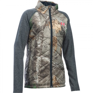 Under Armour Youth Girl ' S Artemis Hybrid Hunting Jacket - Realtree Ap Xtra
