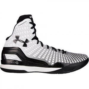 Under Armour Men ' S Ua Clutchfit Drive Mid Basketball Shoe - White / Black