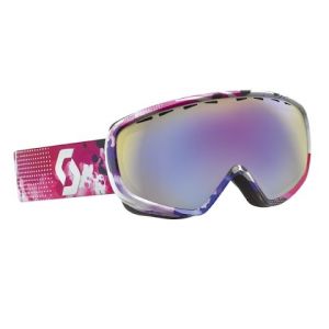 Scott Women ' S Dana Goggle - Light Blue / Yellow