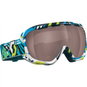 Scott Fix Snow Goggle - Plaid Yellow With Illuminator
