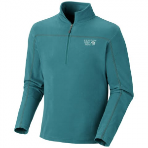 Mountain Hardwear Men ' S Microchill Zip T - Deep Water