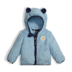 The North Face Infant Plushee Bear Hoodie - Sky Blue