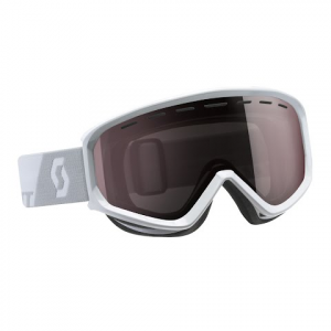 Scott Level Snow Goggle - White / Amplifier Silver Chrome