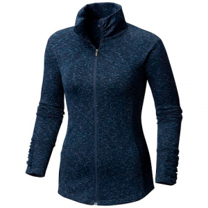 Columbia Women ' S Outerspaced Iii Full Zip Top - Nocturnal Spacedye