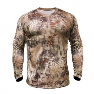 Kryptek Apparel Men ' S Hyperion Long Sleeve Shirt - Kryptek Highlander