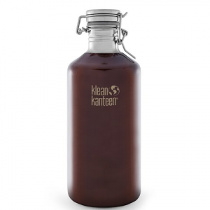 Klean Kanteen 64oz Classic Growler With Swing Lok - Dark Amber