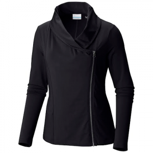 Columbia Women ' S Anytime Casual Zip Up - Bright Geranium