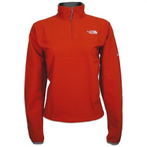 The North Face Women ' S Apex Zip Shirt - Syrah Red