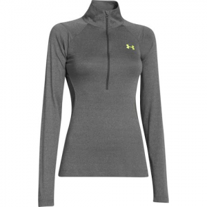 Under Armour Women ' S Iso - Chill Meridian 1 / 2 Zip - Carbon Heather