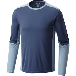 Mountain Hardwear Men ' S Photon Long Sleeve Tee - Zinc