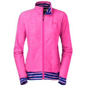 The North Face Women ' S Kirata Full Zip - Azalea Pink Heather