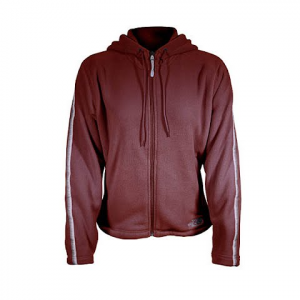The North Face Women ' S Tka 200 Full Zip Hoodie - Black Rose Red