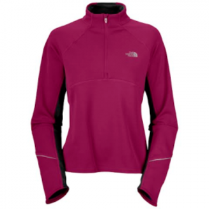 The North Face Women ' S Momentum Hybrid 1 / 4 Zip - Orchid Purple