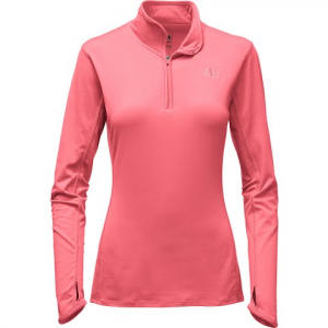 The North Face Women ' S Motivation 1 / 4 Zip - Calypso Coral