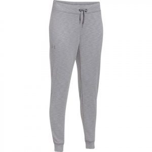 Under Armour Women ' S Solid French Terry Pant - True Grey Heather