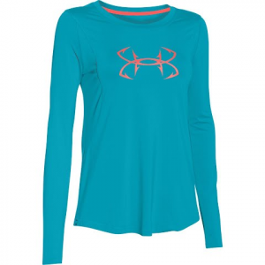 Under Armour Women ' S Coldswitch Thermocline Long Sleeve Shirt - Mauve Mist