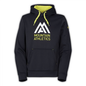 The North Face Mens Mountain Athletics Surgent Hoodie - Tnf Black / Yellow