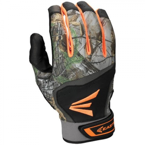 Easton Hs7 Hyperskin Batting Gloves - Black / Realtree Xtra