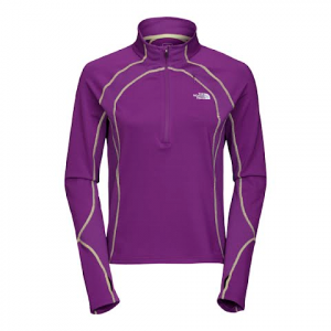 The North Face Women ' S Impluse 1 / 4 Zip - Gravity Purple