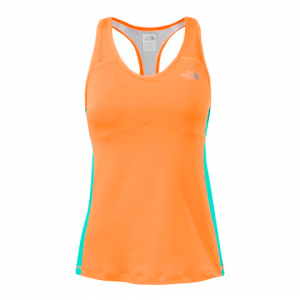 The North Face Women ' S Eat My Dust Sport Tank - Vitamin C Orange