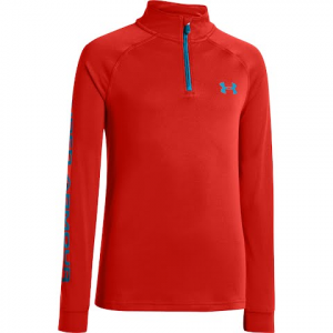 Under Armour Youth Boy ' S Tech 1 / 4 Zip - 810boltorange
