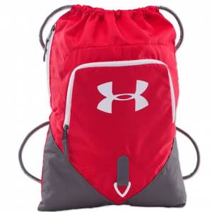 Under Armour Undeniable Sackpack - Red / Graphite