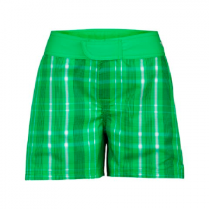 The North Face Women ' S Reversible Trunks - Mojito Green Plaid