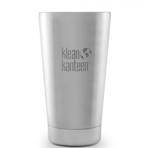 Klean Kanteen Vacuum Insulated 16oz Tumbler - Brushed Stainless