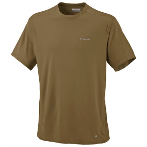 Columbia Mens Mountain Tech Ii Short Sleeve Crew ( Plus Sizes ) - Olive