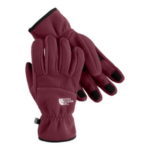 The North Face Women ' S Denali Gloves - Squid Red